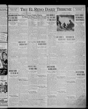 Primary view of object titled 'The El Reno Daily Tribune (El Reno, Okla.), Vol. 50, No. 275, Ed. 1 Monday, January 19, 1942'.