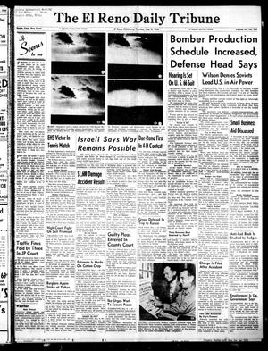 Primary view of object titled 'The El Reno Daily Tribune (El Reno, Okla.), Vol. 64, No. 369, Ed. 1 Tuesday, May 8, 1956'.