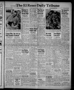 Primary view of object titled 'The El Reno Daily Tribune (El Reno, Okla.), Vol. 56, No. 70, Ed. 1 Wednesday, May 21, 1947'.