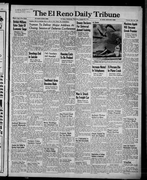 Primary view of object titled 'The El Reno Daily Tribune (El Reno, Okla.), Vol. 56, No. 153, Ed. 1 Thursday, August 28, 1947'.