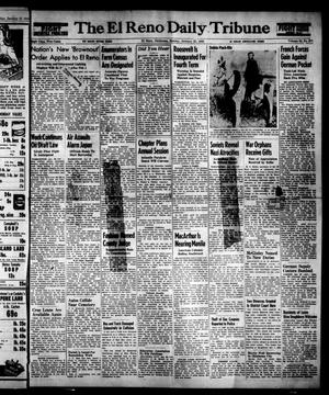 Primary view of object titled 'The El Reno Daily Tribune (El Reno, Okla.), Vol. 53, No. 277, Ed. 1 Sunday, January 21, 1945'.