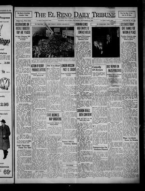 Primary view of object titled 'The El Reno Daily Tribune (El Reno, Okla.), Vol. 49, No. 228, Ed. 1 Thursday, November 21, 1940'.