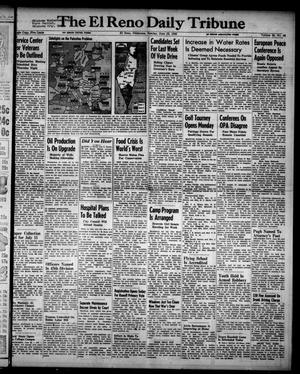 Primary view of object titled 'The El Reno Daily Tribune (El Reno, Okla.), Vol. 55, No. 98, Ed. 1 Sunday, June 23, 1946'.