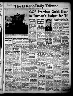 Primary view of object titled 'The El Reno Daily Tribune (El Reno, Okla.), Vol. 61, No. 267, Ed. 1 Friday, January 9, 1953'.