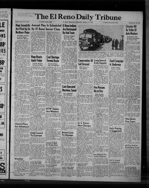 Primary view of object titled 'The El Reno Daily Tribune (El Reno, Okla.), Vol. 58, No. 281, Ed. 1 Wednesday, January 25, 1950'.