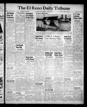 Primary view of object titled 'The El Reno Daily Tribune (El Reno, Okla.), Vol. 53, No. 243, Ed. 1 Monday, December 11, 1944'.