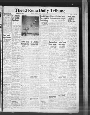 Primary view of The El Reno Daily Tribune (El Reno, Okla.), Vol. 55, No. 210, Ed. 1 Friday, November 1, 1946