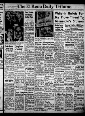 Primary view of object titled 'The El Reno Daily Tribune (El Reno, Okla.), Vol. 61, No. 16, Ed. 1 Wednesday, March 19, 1952'.