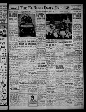 Primary view of object titled 'The El Reno Daily Tribune (El Reno, Okla.), Vol. 50, No. 36, Ed. 1 Friday, April 11, 1941'.