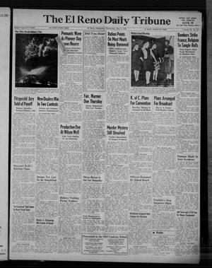 Primary view of object titled 'The El Reno Daily Tribune (El Reno, Okla.), Vol. 53, No. 55, Ed. 1 Wednesday, May 3, 1944'.