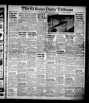 Primary view of object titled 'The El Reno Daily Tribune (El Reno, Okla.), Vol. 56, No. 170, Ed. 1 Thursday, September 18, 1947'.