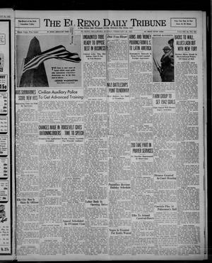 Primary view of object titled 'The El Reno Daily Tribune (El Reno, Okla.), Vol. 50, No. 304, Ed. 1 Sunday, February 22, 1942'.