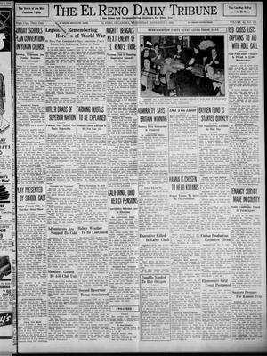 Primary view of object titled 'The El Reno Daily Tribune (El Reno, Okla.), Vol. 48, No. 219, Ed. 1 Wednesday, November 8, 1939'.
