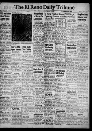 Primary view of object titled 'The El Reno Daily Tribune (El Reno, Okla.), Vol. 55, No. 158, Ed. 1 Sunday, September 1, 1946'.
