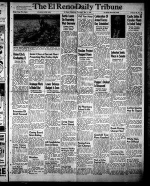 Primary view of object titled 'The El Reno Daily Tribune (El Reno, Okla.), Vol. 59, No. 56, Ed. 1 Thursday, May 4, 1950'.