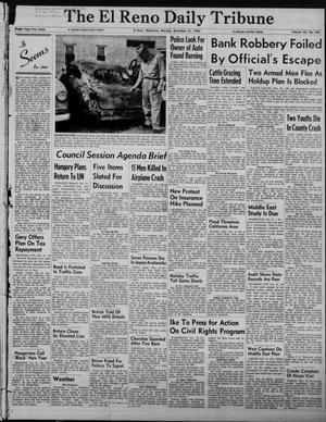 Primary view of The El Reno Daily Tribune (El Reno, Okla.), Vol. 65, No. 260, Ed. 1 Monday, December 31, 1956