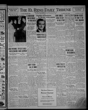 Primary view of object titled 'The El Reno Daily Tribune (El Reno, Okla.), Vol. 50, No. 268, Ed. 1 Sunday, January 11, 1942'.