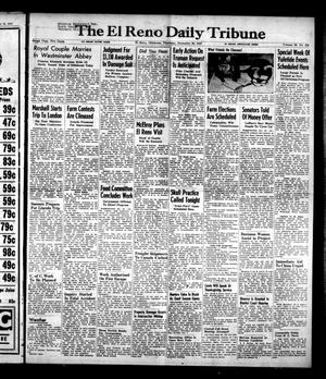 Primary view of object titled 'The El Reno Daily Tribune (El Reno, Okla.), Vol. 56, No. 224, Ed. 1 Thursday, November 20, 1947'.