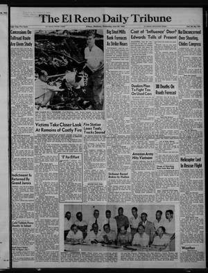 Primary view of object titled 'The El Reno Daily Tribune (El Reno, Okla.), Vol. 64, No. 104, Ed. 1 Wednesday, June 29, 1955'.