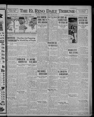 Primary view of object titled 'The El Reno Daily Tribune (El Reno, Okla.), Vol. 50, No. 292, Ed. 1 Sunday, February 8, 1942'.