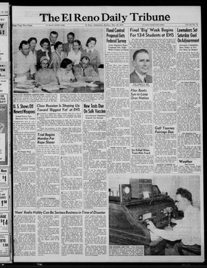 Primary view of object titled 'The El Reno Daily Tribune (El Reno, Okla.), Vol. 64, No. 71, Ed. 1 Sunday, May 22, 1955'.