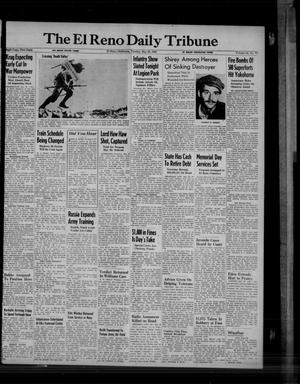 Primary view of object titled 'The El Reno Daily Tribune (El Reno, Okla.), Vol. 54, No. 77, Ed. 1 Tuesday, May 29, 1945'.