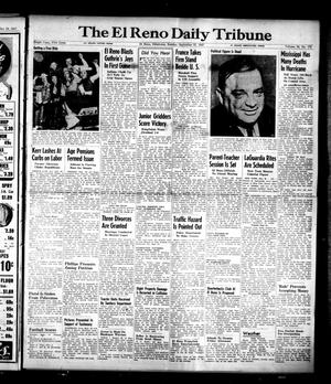 Primary view of object titled 'The El Reno Daily Tribune (El Reno, Okla.), Vol. 56, No. 172, Ed. 1 Sunday, September 21, 1947'.