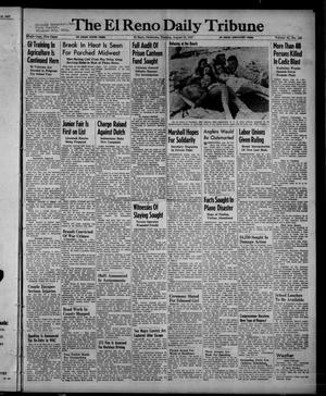 Primary view of object titled 'The El Reno Daily Tribune (El Reno, Okla.), Vol. 56, No. 145, Ed. 1 Tuesday, August 19, 1947'.