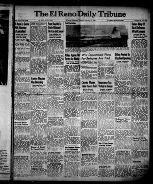 Primary view of object titled 'The El Reno Daily Tribune (El Reno, Okla.), Vol. 53, No. 309, Ed. 1 Tuesday, February 27, 1945'.