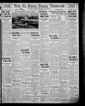 Primary view of object titled 'The El Reno Daily Tribune (El Reno, Okla.), Vol. 47, No. 279, Ed. 1 Wednesday, January 18, 1939'.
