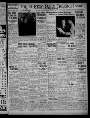 Primary view of object titled 'The El Reno Daily Tribune (El Reno, Okla.), Vol. 50, No. 18, Ed. 1 Friday, March 21, 1941'.