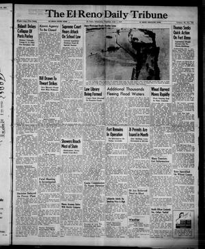 Primary view of object titled 'The El Reno Daily Tribune (El Reno, Okla.), Vol. 56, No. 104, Ed. 1 Tuesday, July 1, 1947'.