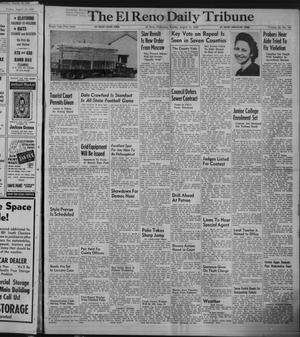 Primary view of object titled 'The El Reno Daily Tribune (El Reno, Okla.), Vol. 58, No. 147, Ed. 1 Sunday, August 21, 1949'.