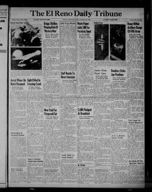 Primary view of object titled 'The El Reno Daily Tribune (El Reno, Okla.), Vol. 52, No. 280, Ed. 1 Monday, January 24, 1944'.