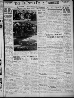 Primary view of object titled 'The El Reno Daily Tribune (El Reno, Okla.), Vol. 48, No. 260, Ed. 1 Wednesday, December 27, 1939'.