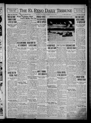 Primary view of object titled 'The El Reno Daily Tribune (El Reno, Okla.), Vol. 49, No. 127, Ed. 1 Thursday, July 25, 1940'.