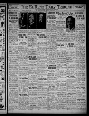 Primary view of object titled 'The El Reno Daily Tribune (El Reno, Okla.), Vol. 49, No. 283, Ed. 1 Sunday, January 26, 1941'.