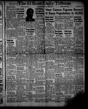 Primary view of object titled 'The El Reno Daily Tribune (El Reno, Okla.), Vol. 59, No. 74, Ed. 1 Thursday, May 25, 1950'.