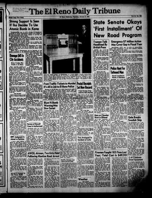 Primary view of object titled 'The El Reno Daily Tribune (El Reno, Okla.), Vol. 61, No. 266, Ed. 1 Thursday, January 8, 1953'.