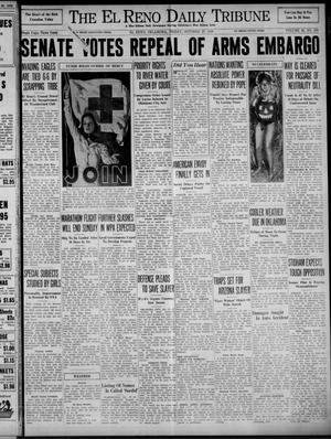 Primary view of object titled 'The El Reno Daily Tribune (El Reno, Okla.), Vol. 48, No. 209, Ed. 1 Friday, October 27, 1939'.