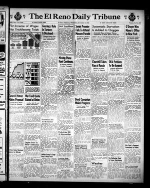 Primary view of object titled 'The El Reno Daily Tribune (El Reno, Okla.), Vol. 54, No. 211, Ed. 1 Wednesday, November 7, 1945'.