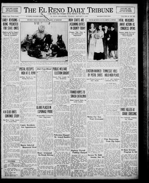Primary view of object titled 'The El Reno Daily Tribune (El Reno, Okla.), Vol. 47, No. 266, Ed. 1 Tuesday, January 3, 1939'.