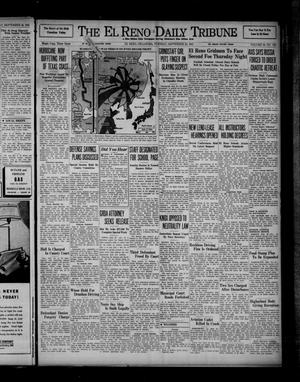 Primary view of object titled 'The El Reno Daily Tribune (El Reno, Okla.), Vol. 50, No. 176, Ed. 1 Tuesday, September 23, 1941'.