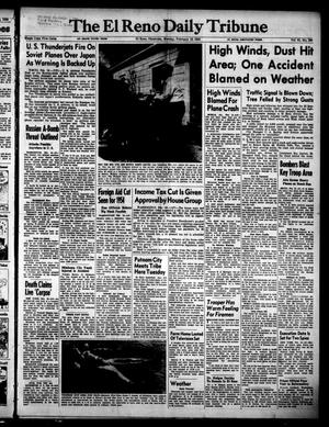 Primary view of object titled 'The El Reno Daily Tribune (El Reno, Okla.), Vol. 61, No. 299, Ed. 1 Monday, February 16, 1953'.