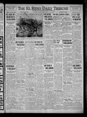 Primary view of object titled 'The El Reno Daily Tribune (El Reno, Okla.), Vol. 49, No. 132, Ed. 1 Wednesday, July 31, 1940'.