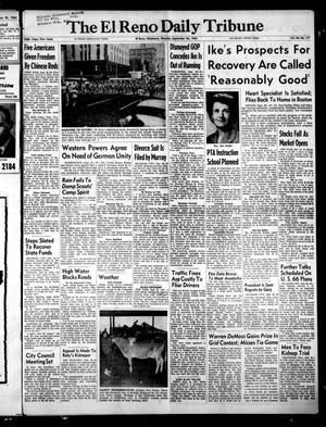 Primary view of The El Reno Daily Tribune (El Reno, Okla.), Vol. 64, No. 177, Ed. 1 Monday, September 26, 1955