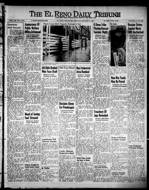 Primary view of object titled 'The El Reno Daily Tribune (El Reno, Okla.), Vol. 51, No. 262, Ed. 1 Monday, January 4, 1943'.