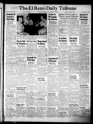Primary view of object titled 'The El Reno Daily Tribune (El Reno, Okla.), Vol. 58, No. 166, Ed. 1 Tuesday, September 13, 1949'.