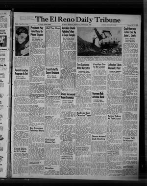 Primary view of object titled 'The El Reno Daily Tribune (El Reno, Okla.), Vol. 58, No. 293, Ed. 1 Wednesday, February 8, 1950'.