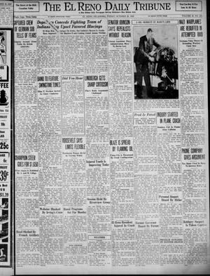 Primary view of object titled 'The El Reno Daily Tribune (El Reno, Okla.), Vol. 48, No. 203, Ed. 1 Friday, October 20, 1939'.